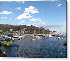 Avalon Bay Catalina Island Acrylic Print by Tony and Kristi Middleton