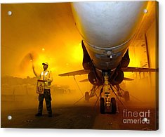 Aviation Boatswains Mate Waves Class Acrylic Print by Stocktrek Images
