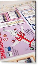 Aviation Information IIi Acrylic Print by Ricky Barnard