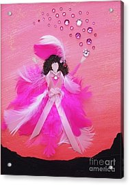 Acrylic Print featuring the painting Awareness by Alys Caviness-Gober
