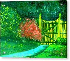 Azaela Bush Acrylic Print