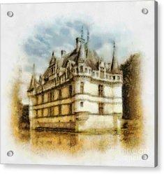 Azay Le Rideau Acrylic Print by Mo T