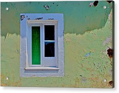 Azores Window Acrylic Print by Eric Tressler
