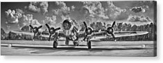 B-17 Acrylic Print by Williams-Cairns Photography LLC