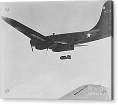 B17 Flying Fortress Bomber Acrylic Print