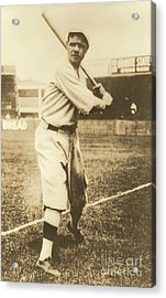 Babe Ruth 1920 Acrylic Print by Padre Art