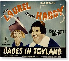 Babes In Toyland,from Left, Stan Acrylic Print by Everett