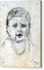 Baby Portrait  Acrylic Print