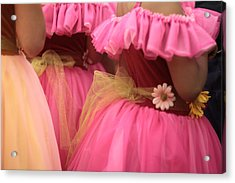 Baby Tutus Acrylic Print by Denice Breaux