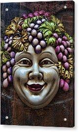 Bacchus God Of Wine Acrylic Print by David Smith