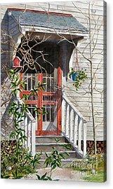 Back Door Friends  Sold Acrylic Print