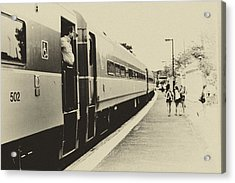 Back In The Day Acrylic Print by Andrew Kubica