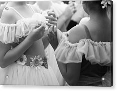 Back Stage Acrylic Print by Denice Breaux