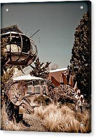 Albuquerque, New Mexico - Back To The Future Acrylic Print