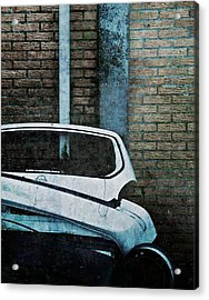Back To The Wall Acrylic Print by Odd Jeppesen