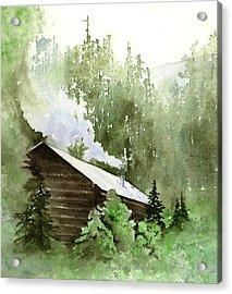 Backcountry Morning Acrylic Print