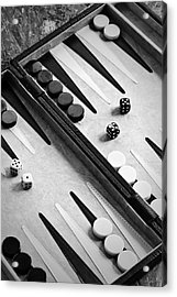 Backgammon Acrylic Print