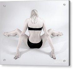 Backside Acrylic Print by Pierre-jean Grouille