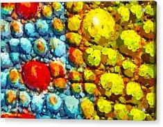 Bacteria 3 Acrylic Print by Angelina Vick