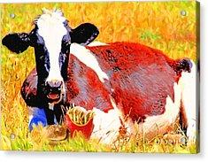 Bad Cow . 7d1279 Acrylic Print