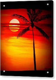 Bad Sunrise Acrylic Print