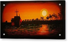 Bad Sunset Acrylic Print