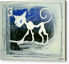 Badcat Acrylic Print