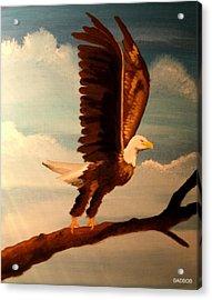 Badeagle Acrylic Print