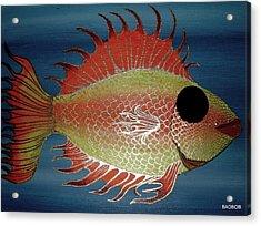 Badfish Acrylic Print