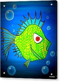 Badfishy Acrylic Print