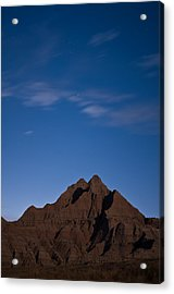 Badlands Night Acrylic Print