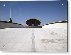 Baghdad, Iraq - The Ramp That Leads Acrylic Print by Terry Moore