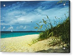Acrylic Print featuring the photograph Bahamas Afternoon by Deborah Smith