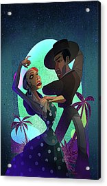 Baile De Amor Acrylic Print