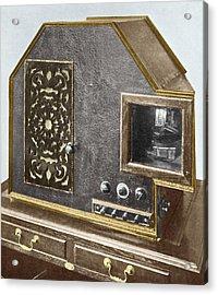 Baird Televisor, Early Television Set Acrylic Print