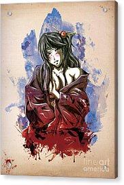 Baishun Acrylic Print by Tuan HollaBack