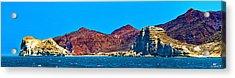 Baja Coastline Acrylic Print by Russ Harris