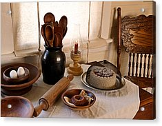 Baked Goods Acrylic Print by Carmen Del Valle