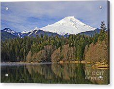 Acrylic Print featuring the photograph Baker Lake by Jack Moskovita