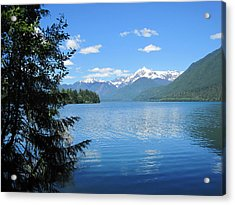 Acrylic Print featuring the photograph Baker Lake by Karen Molenaar Terrell