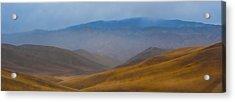 Acrylic Print featuring the photograph Bakersfield Horizon by Hugh Smith