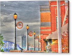 Balcony At Newport On The Levee Acrylic Print