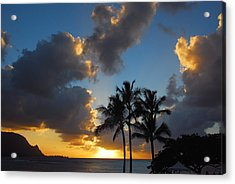 Acrylic Print featuring the photograph Bali Hai Sunset by Lynn Bauer