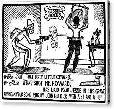 Ballad Of Jesse James Acrylic Print by Granger