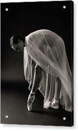 Ballerina Acrylic Print by Hugh Smith