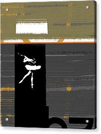 Ballerina  Acrylic Print by Naxart Studio