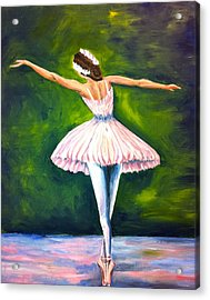 Ballerina Acrylic Print by Tiffany Albright
