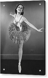 Ballet Dancer Acrylic Print by George Marks
