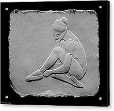 Ballet Dancer Acrylic Print by Suhas Tavkar