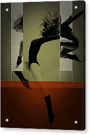 Ballet Dancing Acrylic Print